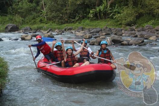 Wisata rafting lombok