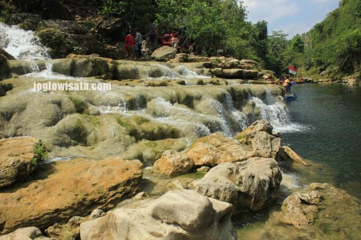 Indahnya Air Terjun Sri Gethuk Gunung Kidul