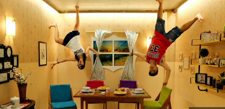 Yuk Narsis di Upside Down, Yogyakarta!