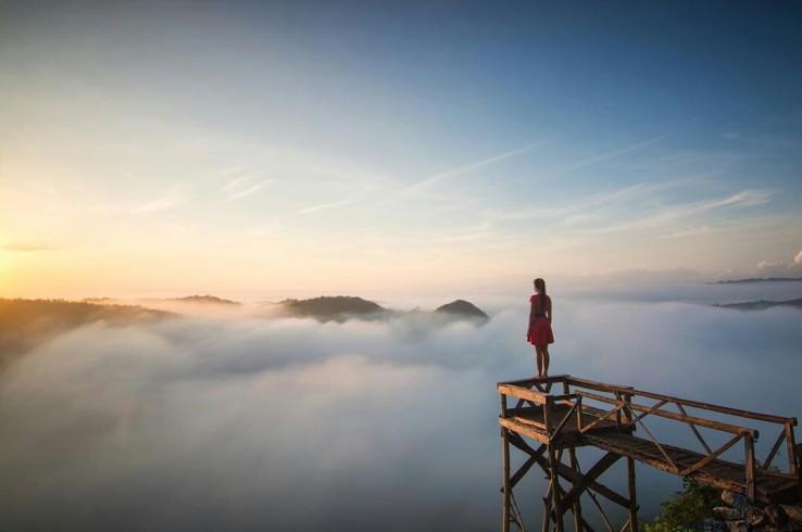 Bukit Panguk Kediwung Tempat Spot Foto yang Instragramble