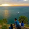 Menanti Sunset di Promthep Cape