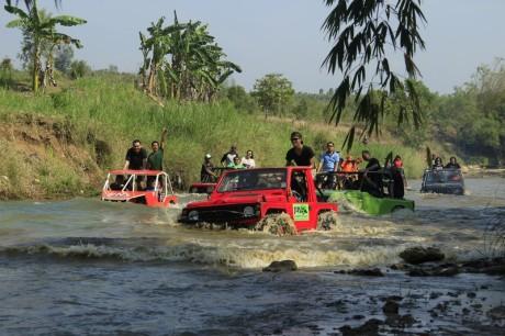 Paket Wisata Off Road Pindul Jogja