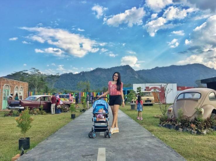 Wisata Bernuansa Klasik di Magelang, Junkyard Autopark & Café