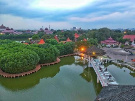 Pesona Puri Maerokoco Semarang, Taman Mininya Jateng