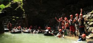 Cave Tubing Kali Suci