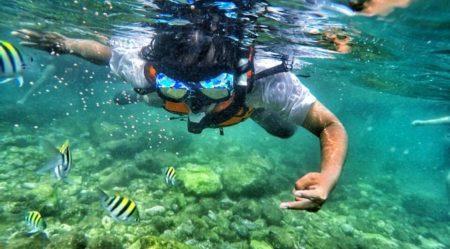 Snorkeling Pantai Nglambor Gunung Kidul