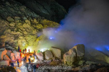 Banyuwangi - Blue Fire Kawah Ijen