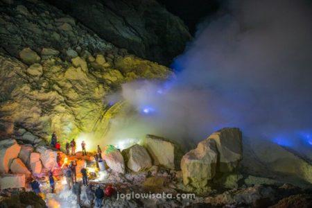 Blue Fire Kawah Ijen, Banyuwangi