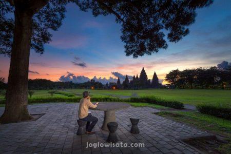 Jogja - Candi Prambanan Sunset