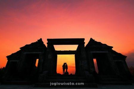Kraton Ratu Boko Sunset