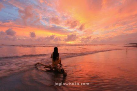 Pantai Parangtritis Sunset
