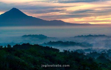 Punthuk Setumbu Sunrise, Magelang