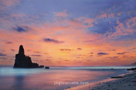Pantai Buyutan Sunset, Pacitan