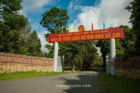 Cu Chi Tunnel Gate, Vietnam