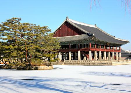 Gyeongbok Palace Korea Selatan