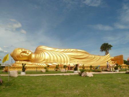 Thailand - Patung Budha Tidur