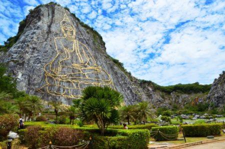 Laser Budha Hill Pattaya Thailand