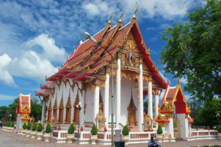 Wat Chalong Temple Thailand