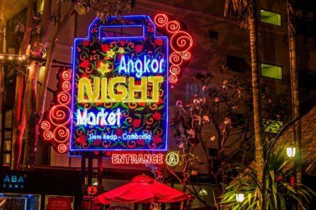 Angkor Night Market Kamboja