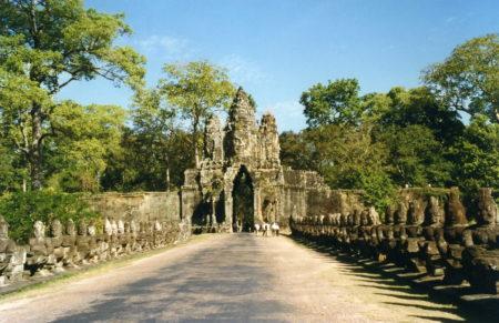 Angkor Thorn South Gate Kamboja