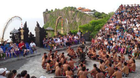 Teri Kecak Pura Uluwatu Bali
