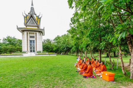 Choeung Ek Killing Fields Phnom Penh Kamboja