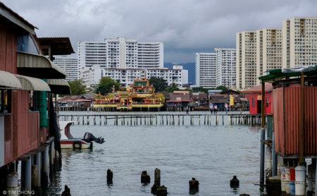Clan Jetties Of Penang Malaysia