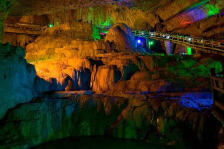 Jiuxiang Caves Kunming China