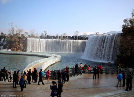 Kunming Waterfall Park China