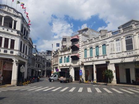 Kuno Arcade Street Haikou Hainan China
