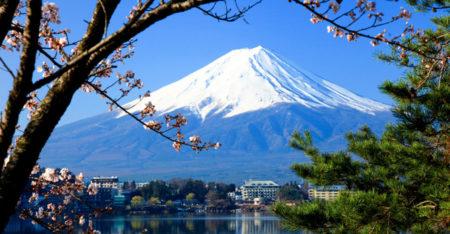 Lake Kawaguchi Jepang