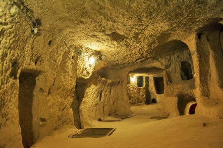 Ozkonak Underground City Turki