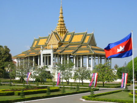 Royal Palace Phnom Penh Kamboja