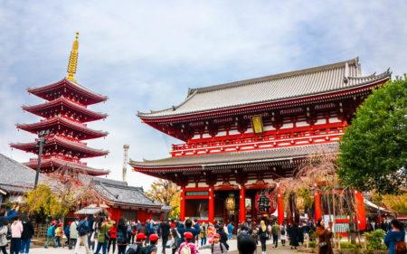 Sensoji Temple Jepang