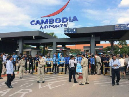 Siem Reap Airport Kamboja