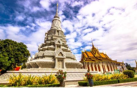 Silver Pagoda Phnom Penh Kamboja