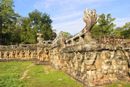 Terrace of Elephant Kamboja