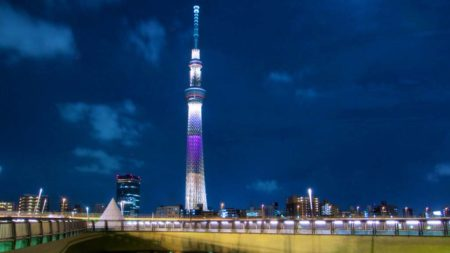 Tokyo Skytree Tower Jepang