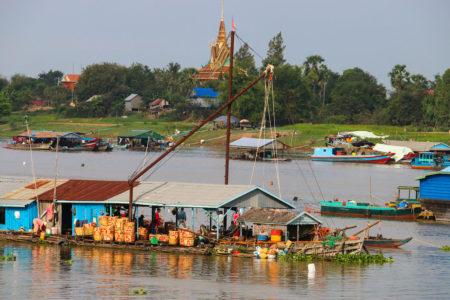 Tonle Sap Lake Kamboja