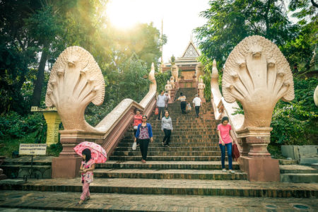 Wat Phnom Phnom Penh Kamboja