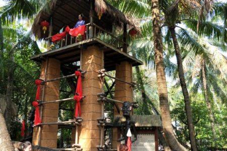 Yetian Miao Minority Nationality Village Hainan China
