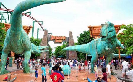Universal Studio Singapore - Jurassic Park