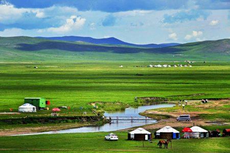 Xilamuren Grassland Mongolia